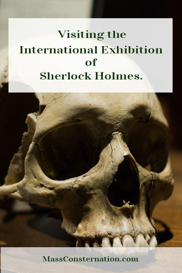 Happy Birthday to Arthur Conan Doyle with photos from the International Exhibition of Sherlock Holmes in Seattle.  #Sherlock #Elementary #SherlockHolmes #InternationalExhibitionofSherlockHolmes #ArthurConanDoyle #Events #Seattle #Books #Crime