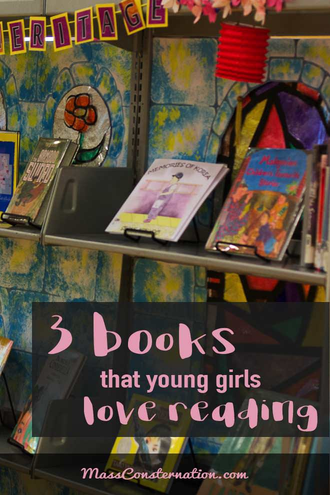 Three librarian-recommended books that young girls love. Princesses included.