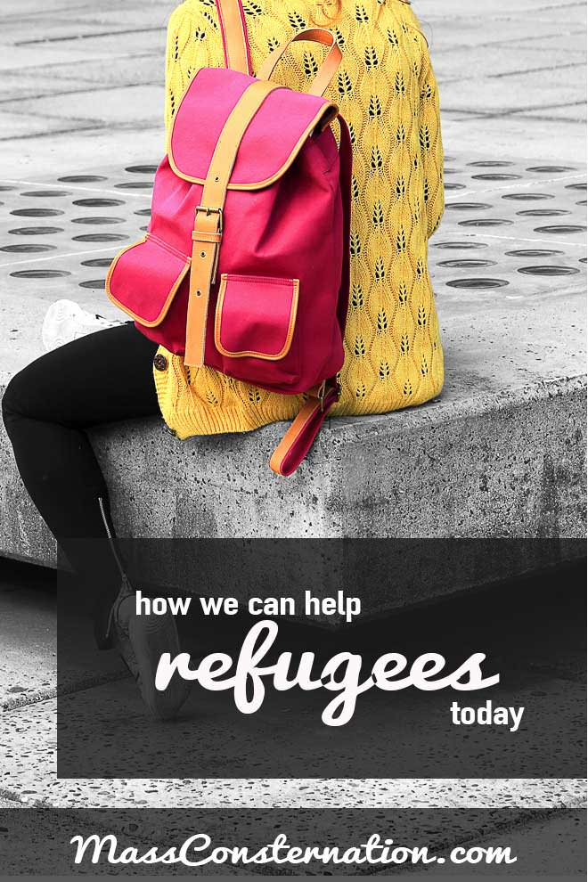 There are many ways we can help refugees that needn't be expensive or difficult, but will help change their lives.