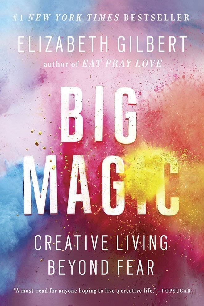 Big Magic is Elizabeth Gilbert\'s views and understanding of creativity. It\'s all fluffy and a little bit useful.