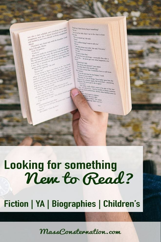 Need something new to read? Visit for book reviews on most genres.