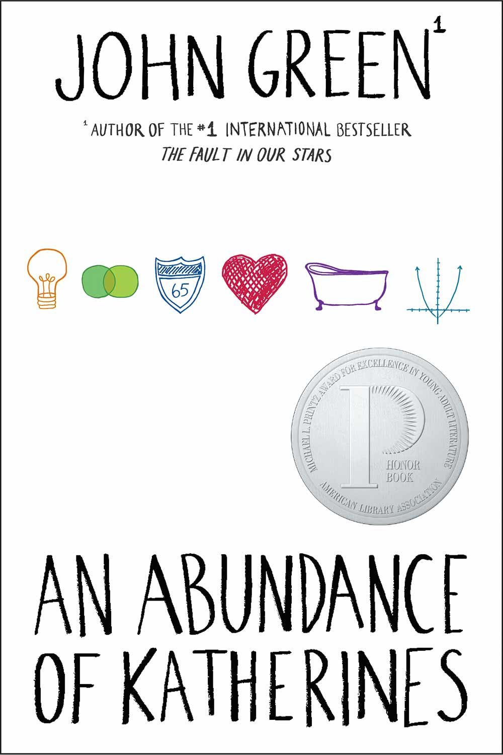 An Abundance of Katherines is a cute road trip story of a child prodigy recovering from heartache, with his best friend. And a lot more because it's by John Green. #YABooks #Books #BookReview #JohnGreen