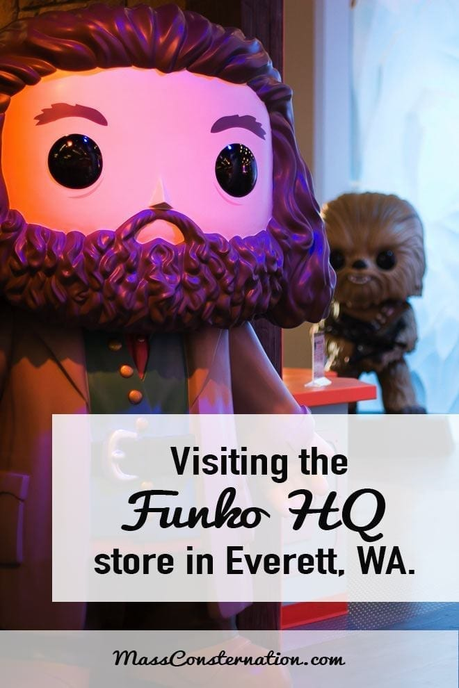 Visiting the Funko HQ store in Everett, Washington. A must for all fans.