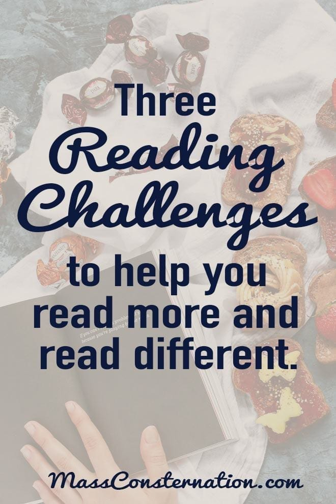 Reading challenges to help you read different in 2018. #Books