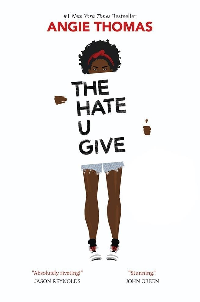 The Hate U Give by Angie Thomas tells of Starr Carter, a black teen who was the sole witness to a police shooting. Mandatory reading to understand the world we're in.