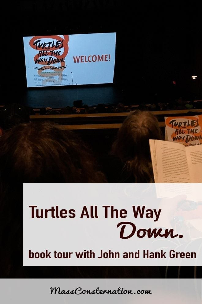 The Bellingham stop of John Green and Hank Green\'s Turtles All The Way Down book tour.