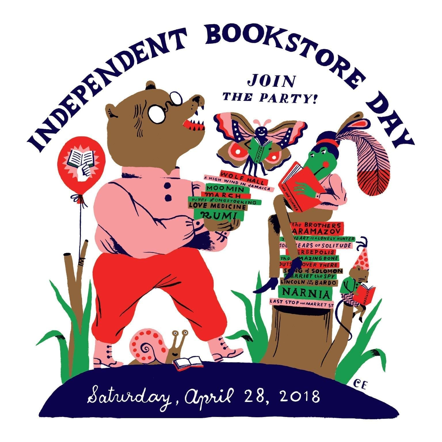 Today is Independent Bookstore Day, when we celebrate the books, stores, and people that make book buying an experience, not a transaction. #IndieBookstoreDay #Books #Bookish #BookstoreDay