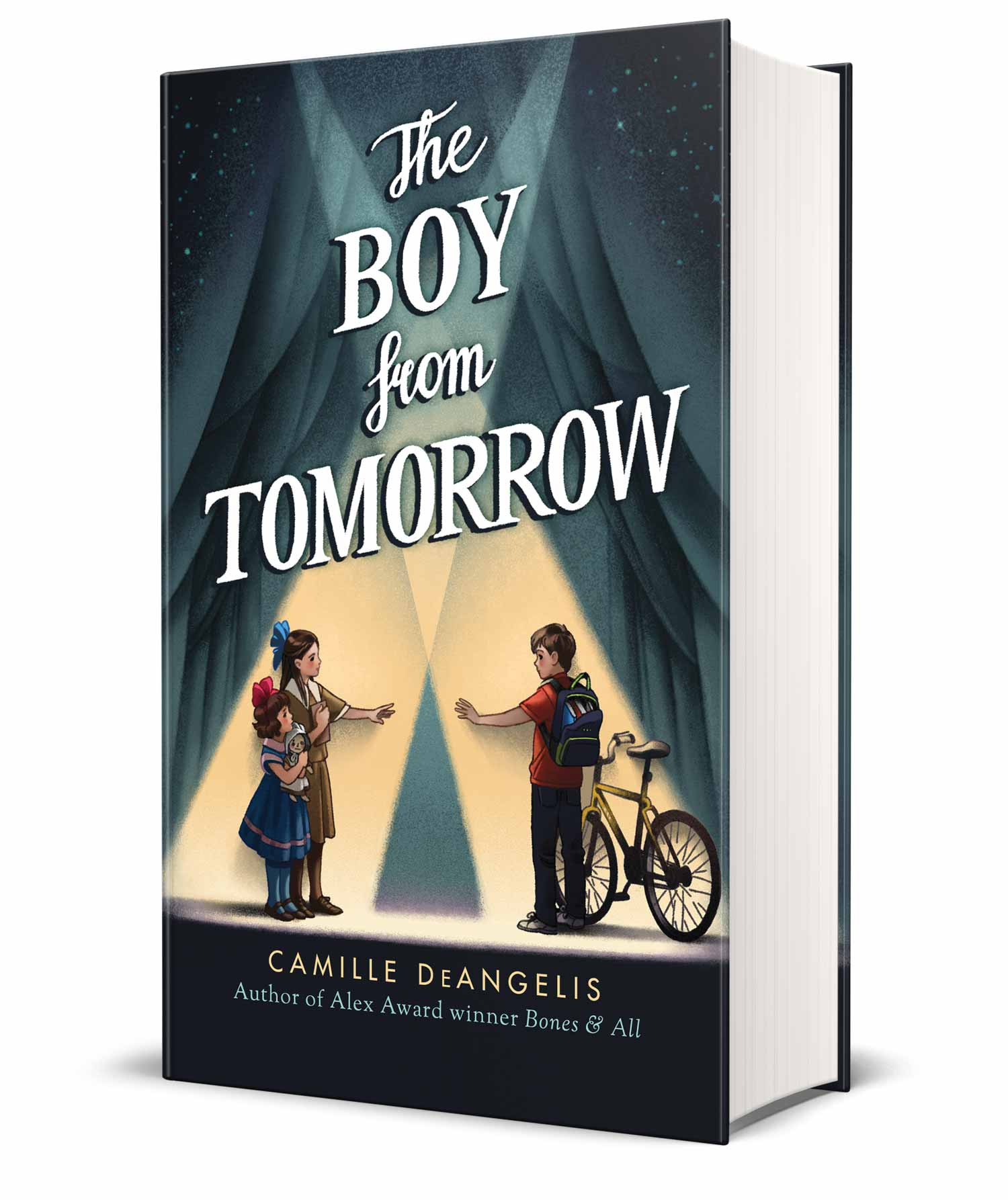 Josie and Alec are the best of friends, even chatting daily late into the night. Except Josie lives in 1915 and Alec lives in 2015. The Boy from Tomorrow by Camille DeAngelis is a cute children's story of best friends, even across time. #ChildrensBooks #Books #MassConsternation