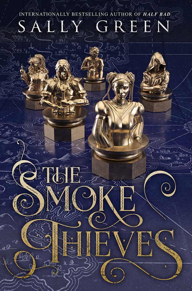 Sally Green\'s new series: The Smoke Thieves has been released. A fantasy series with five characters and a battle of countries. #YABooks #BookReview #YAFantasy #BritishBooksChallenge18 #Books
