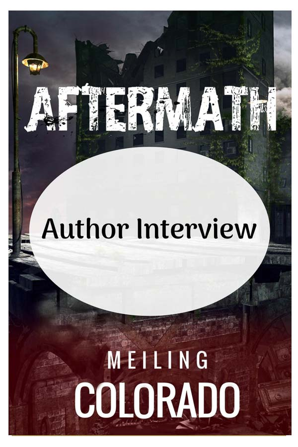 An interview with author, Meiling Colorado about her YA and sci-fi novel, Aftermath.