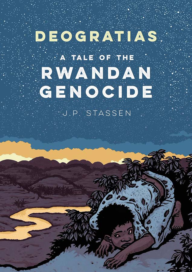 The graphic novel of Deogratias by Jean-Philippe Stassen is released and tells the story of a teen boy in the Rwandan genocide.  #YoungAdult #YABooks #Books #Rwanda #genocide #GraphicNovels