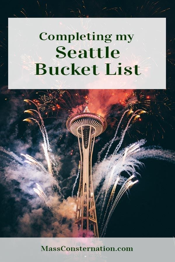 What should be on a Seattle bucket list?  #Seattle #Travel #BucketList