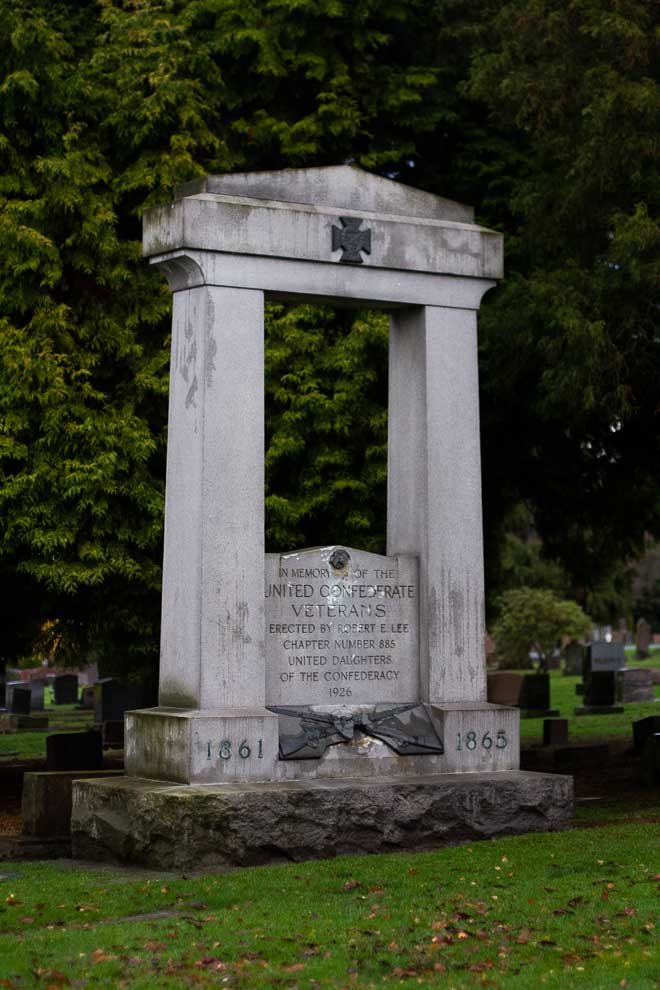 I visited the Lake View Cemetery in Seattle to see the graves and discover the stories contained within.  #Travel #Seattle #Cemetery #LakeViewCemetery