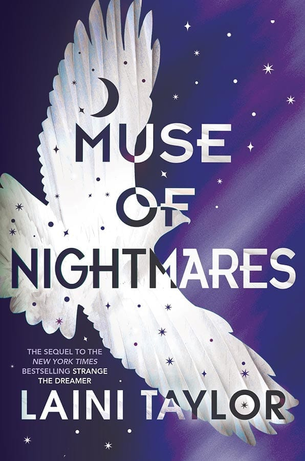 Woohoo, the Strange the Dreamer sequel, Muse of Nightmares has been released. Laini Taylor\'s second book in the fantasy series is just as amazing.  #YABooks #Books #Reading #Fantasy #StrangeTheDreamer #MuseofNightmares #LainiTaylor #Weep