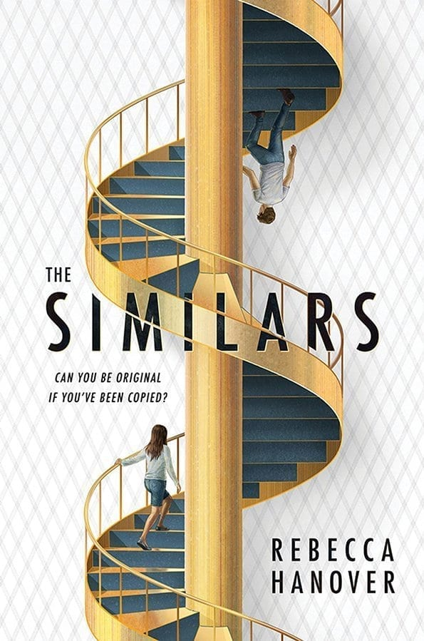 When six clones join Emmaline's prestigious boarding school, she must confront the heartbreak of seeing her dead best friend's face each day in class. Technically true but The Similars by Rebecca Hanover is much more complex.  #Reading #Books #YABooks #TheSimilars #RebeccaHanover #BookBlogger #MassConsternation