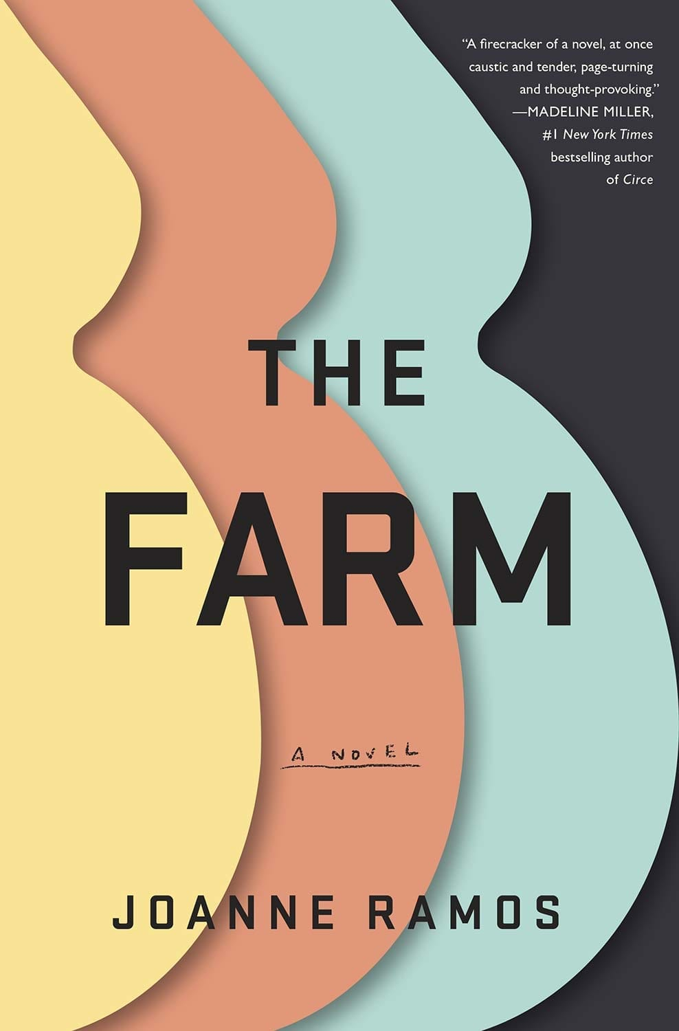 The Farm by Joanne Ramos is a story of women trying to make their way in life. By commercializing childbirth.  #Books #Fiction #BookReviews #MassConsternation #TheFarm #JoanneRamos