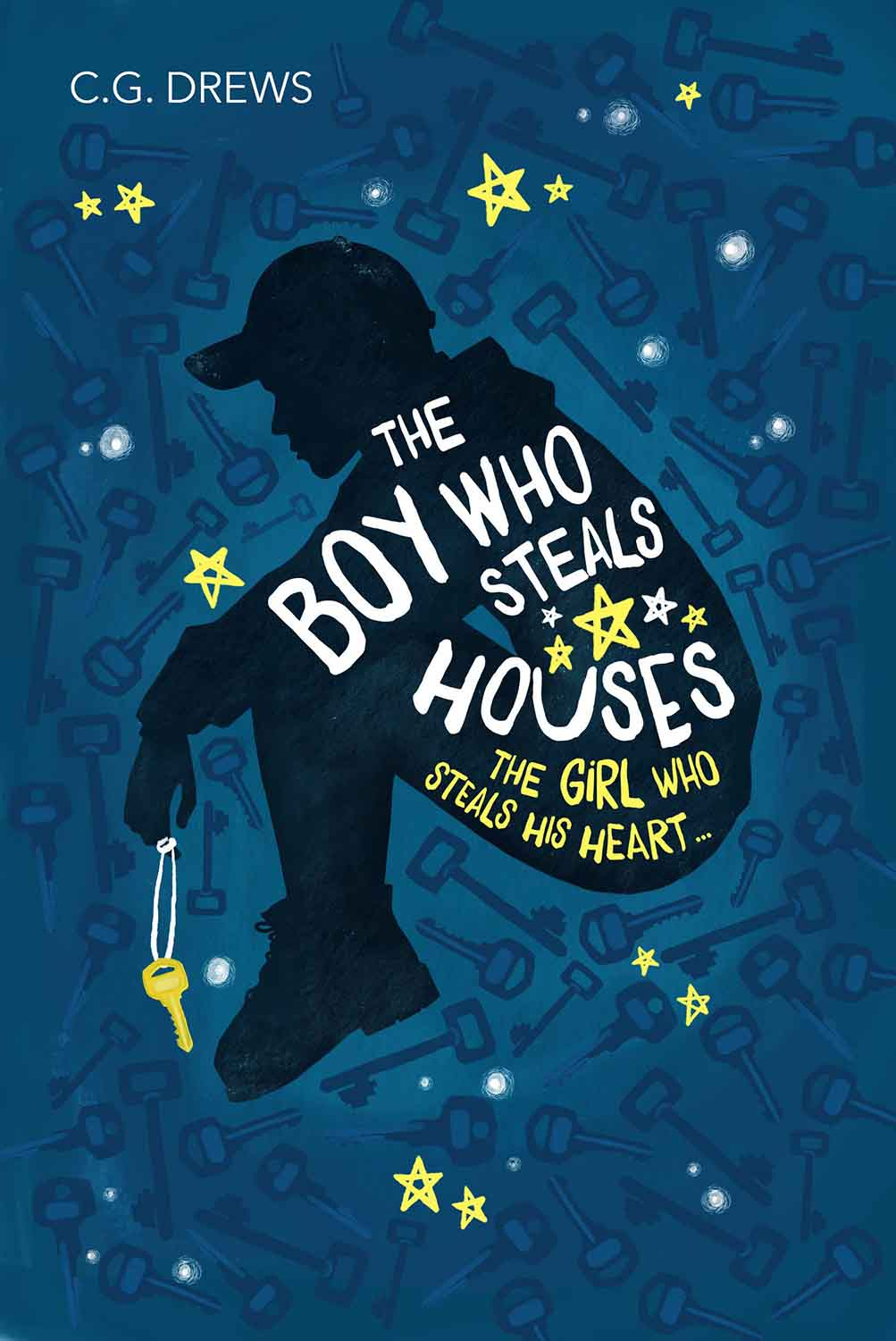 In her second novel, CG Drews tells of Sam, The Boy Who Steals Houses. It\'s a powerfully-written story of homeless brothers and family.  #PaperFury #CGDrews #TheBoyWhoStealsHouses #Books #YABooks #BookReview #MassConsternation