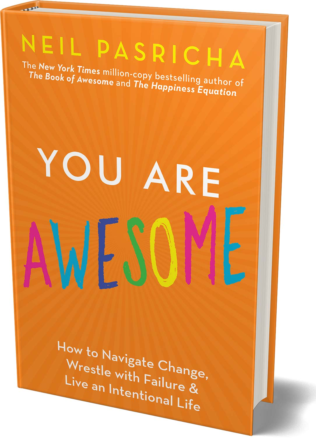 You are Awesome is Neil Pasricha\'s new book and the first I read. It\'s filled with useful tips and reflections on how you can be more awesome.  #Books #SelfHelp #BookBlogger #YouAreAwesome #Awesome   #NeilPasricha #ReadBetter #ReadHappy