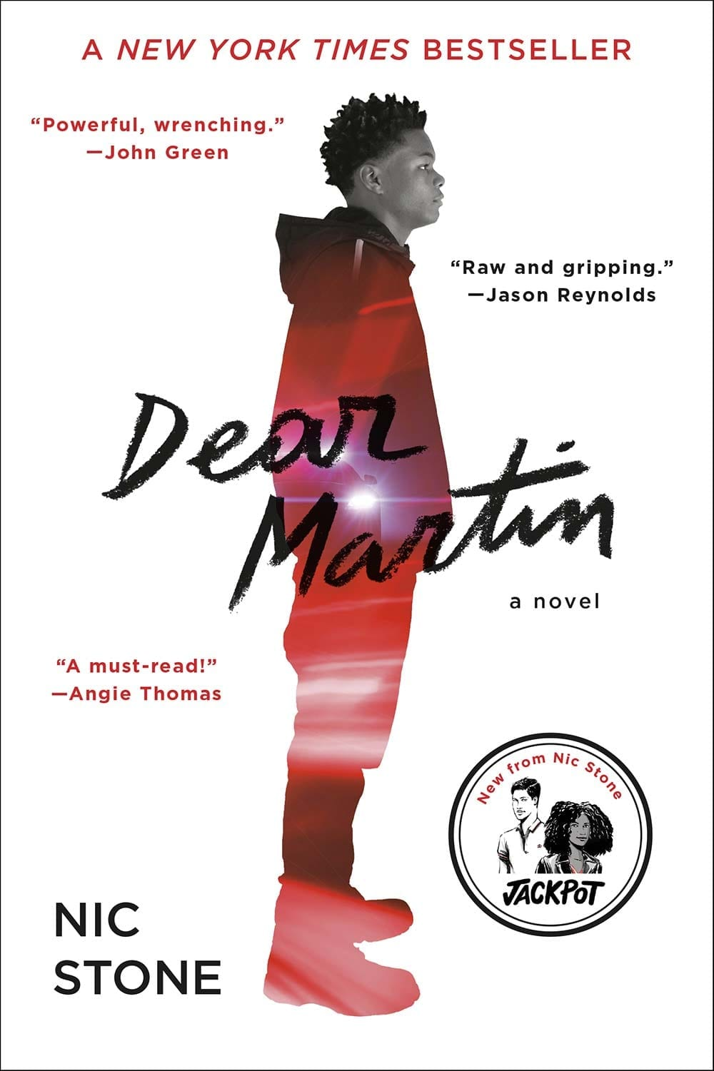 Justyce is heading to Yale and has a promising future, once he navigates growing up black in Dear Martin by Nic Stone.  #Books #YABooks #YA #BlackLivesMatter #Reading #BookBlogger #DearMartin #NicStone